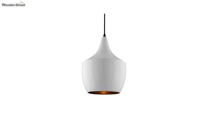 Nordic Modern White Metal Hanging Light-2