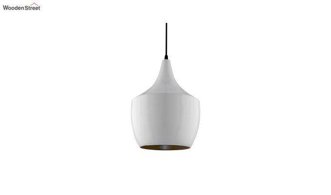 Nordic Modern White Metal Hanging Light-3