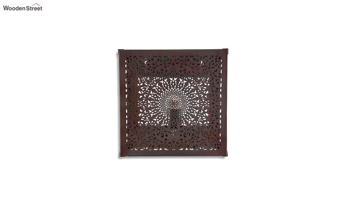 Oriental Copper Square Wall Light-2