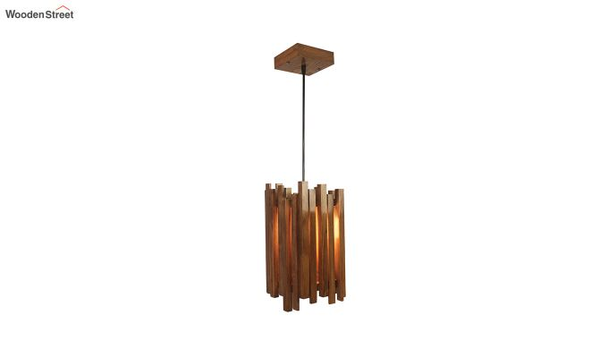 Palisade Brown Wooden Hanging Lamp-3