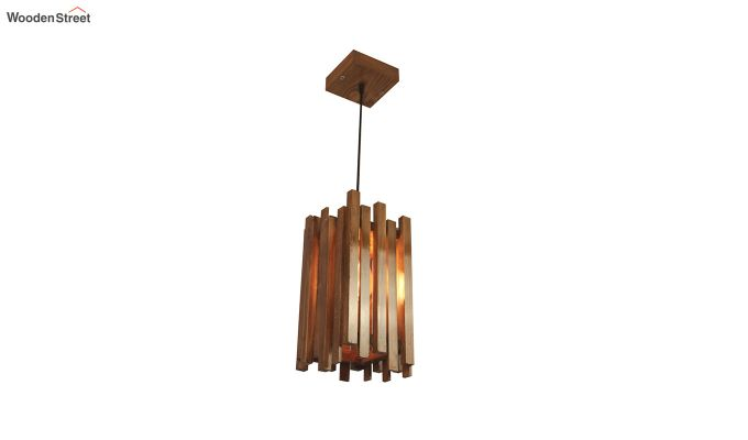 Palisade Brown Wooden Hanging Lamp-5