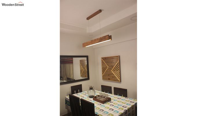 Synergy Wooden LED Hanging Lamp-1
