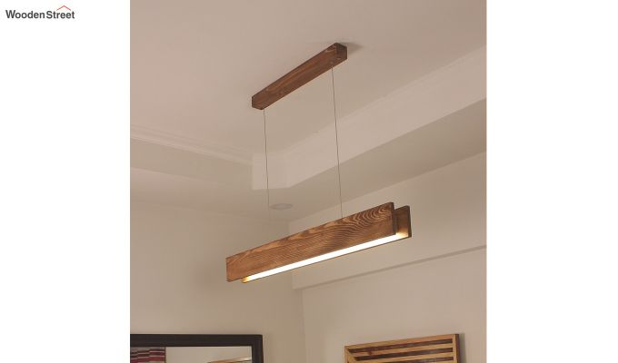 Synergy Wooden LED Hanging Lamp-2