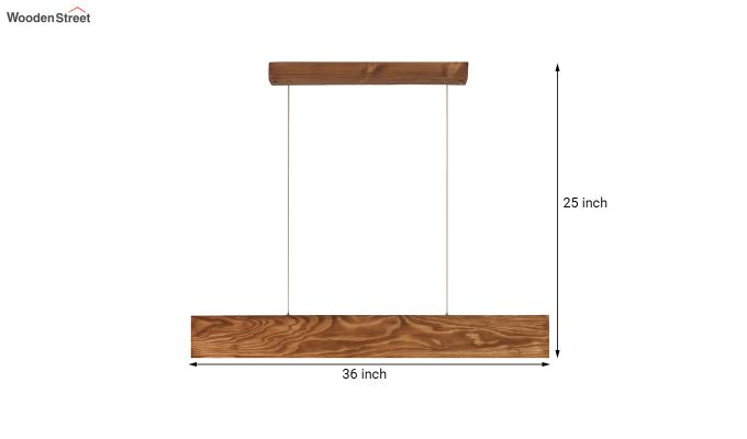Synergy Wooden LED Hanging Lamp-7