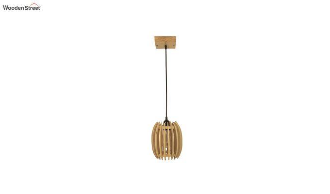Ventus Beige Wooden Hanging Lamp-7
