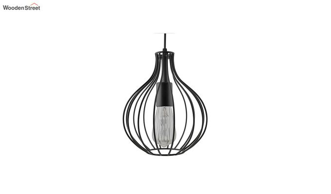 Vintage Edison Crown Filament Hanging Light-3