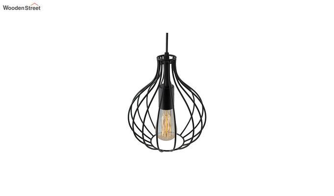 Vintage Edison Crown Filament Hanging Light-4