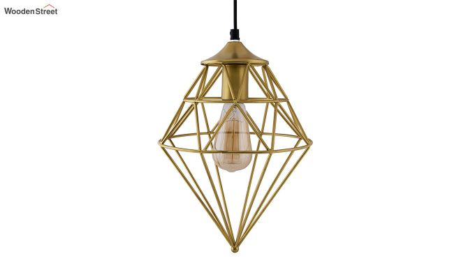 Classic Golden Vintage Gem Filament Hanging Light-3