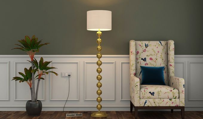 Beads Metal Floor Lamp-1