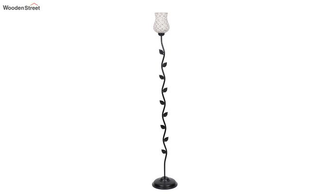 Beanstalk Jewel Shell Glass Floor Lamp-5