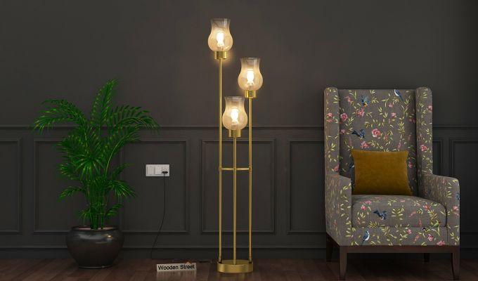 Caltrop Metal Floor Lamp-1