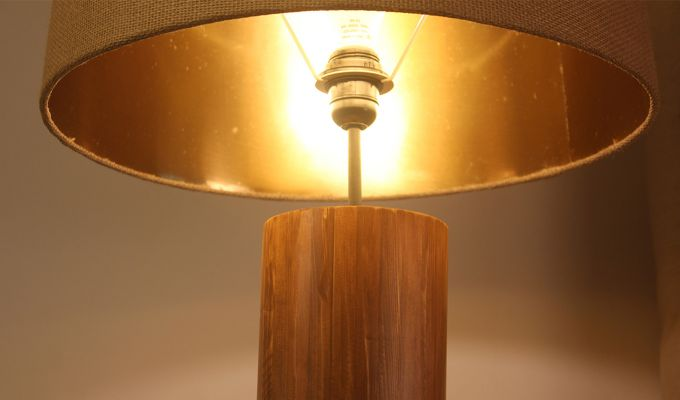 Cedar Brown Wooden Floor Lamp-6
