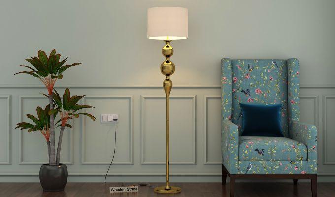 Dipper Metal Floor Lamp-1