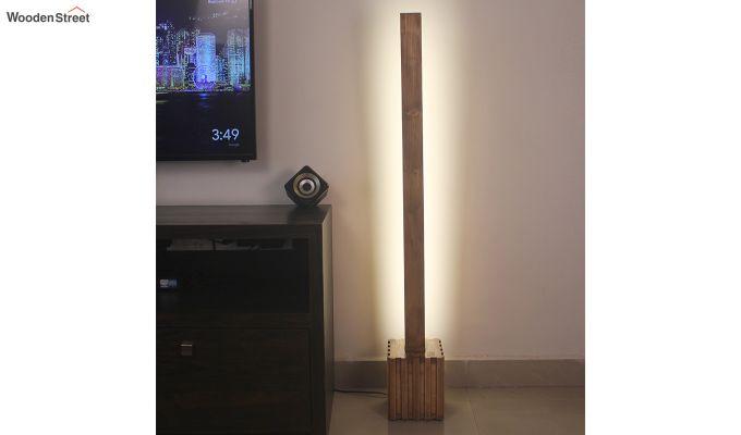 Excalibur LED Wooden Floor Lamp-1