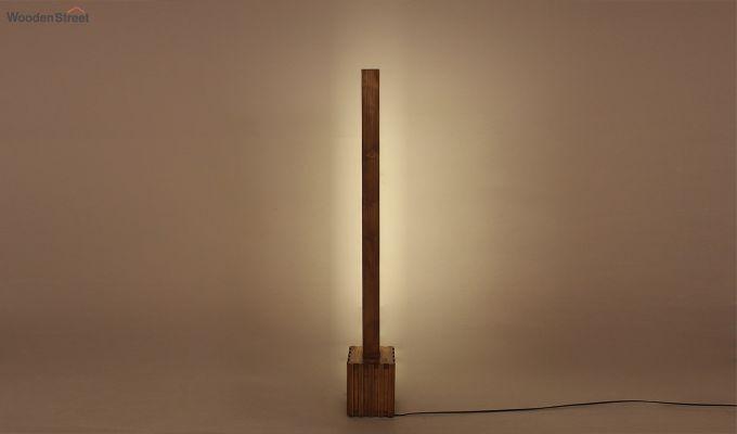 Excalibur LED Wooden Floor Lamp-2