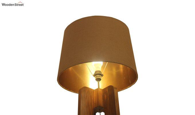 Jet Brown Wooden Floor Lamp-4