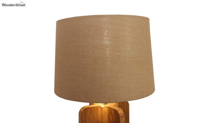 Jet Brown Wooden Floor Lamp-5