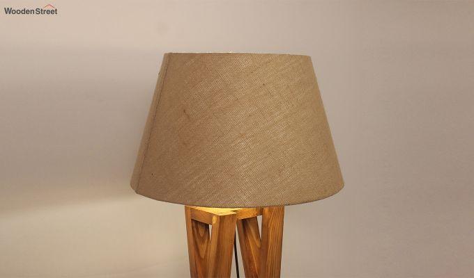 Monica Brown Wooden Floor Lamp-5