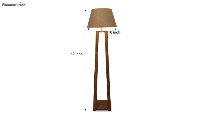 Monica Brown Wooden Floor Lamp-8