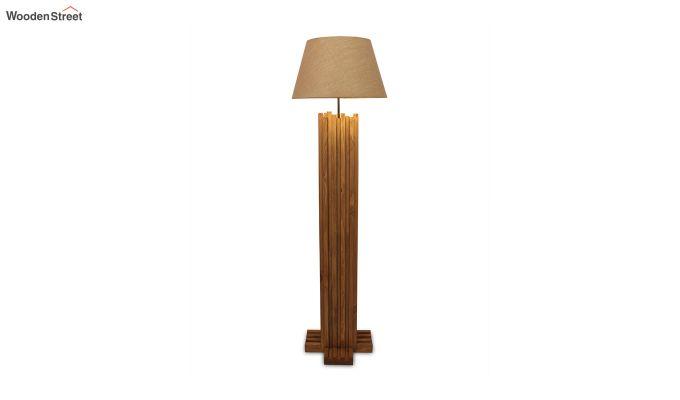 Palisade Brown Wooden Floor Lamp-7