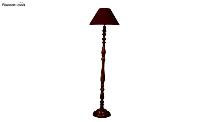 Polaris Maroon Floor Lamp-3
