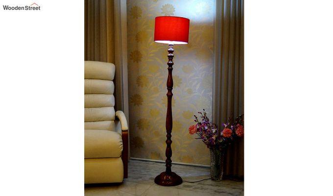 Polaris Red Floor Lamp-1