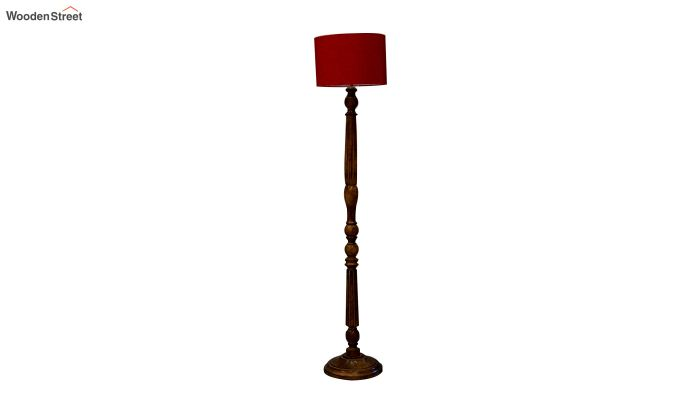 Polecat Red Floor Lamp-3