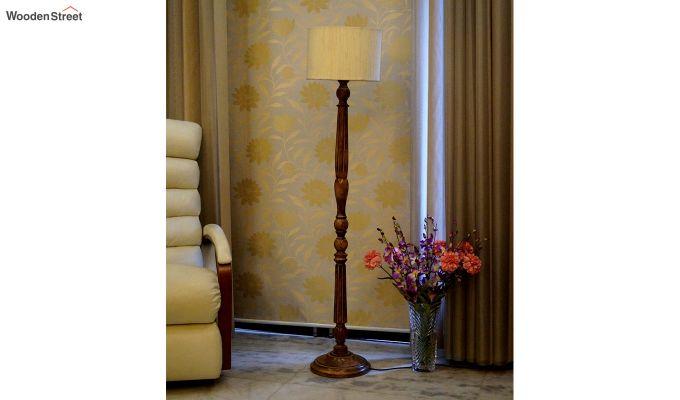 Polecat Cream Floor Lamp-2