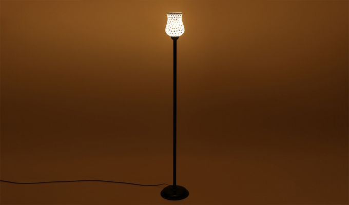 Rodney Geo Glass Floor Lamp-3
