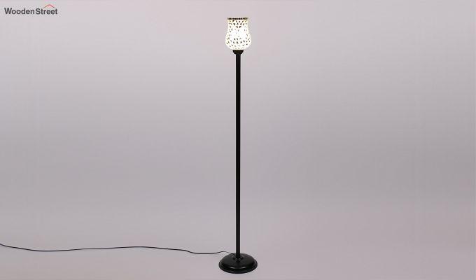 Rodney Geo Glass Floor Lamp-4