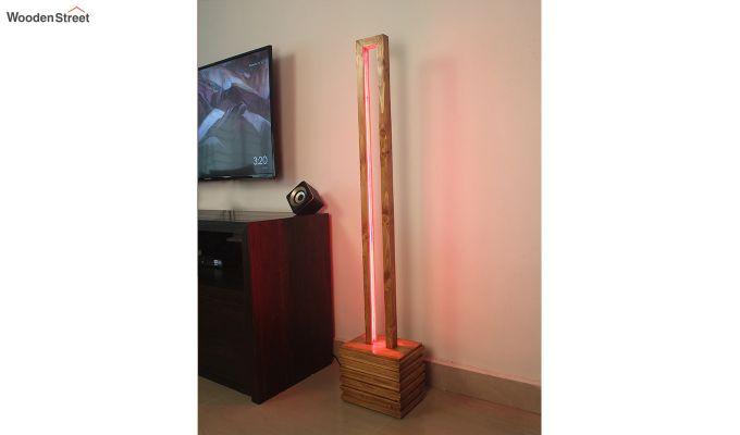 Stargate Smart LED Wooden Floor Lamp-3