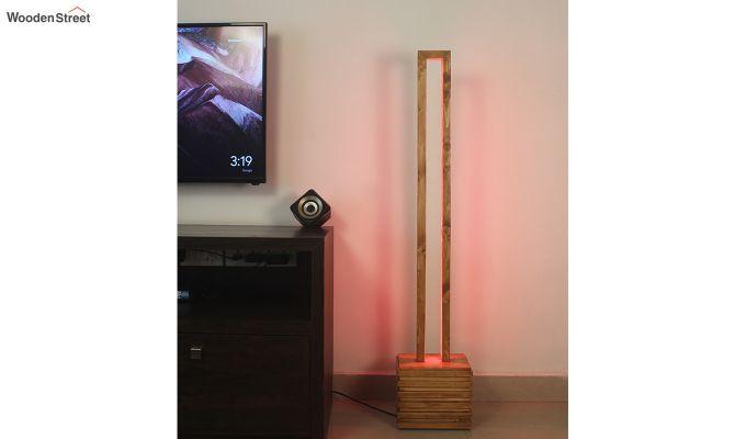 Stargate Smart LED Wooden Floor Lamp-1