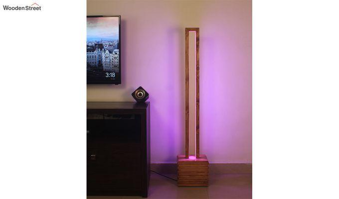 Stargate Smart LED Wooden Floor Lamp-4