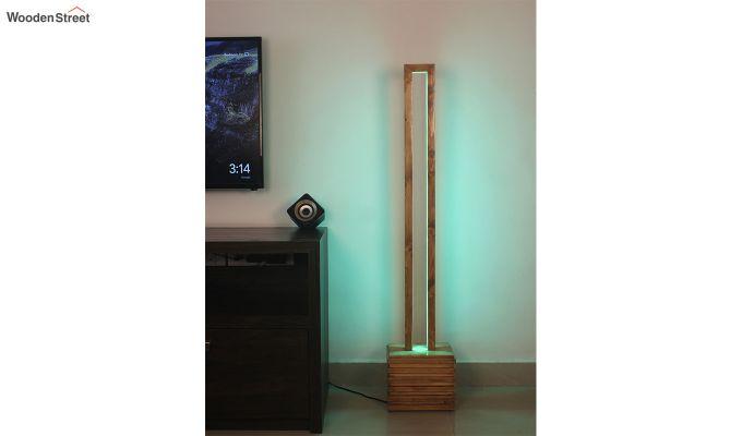 Stargate Smart LED Wooden Floor Lamp-5