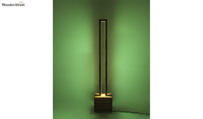 Stargate Smart LED Wooden Floor Lamp-7