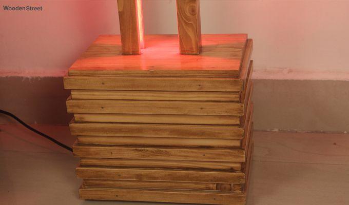 Stargate Smart LED Wooden Floor Lamp-9