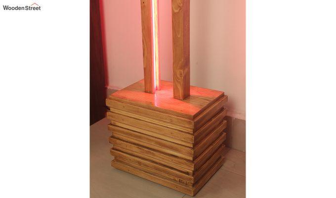 Stargate Smart LED Wooden Floor Lamp-10