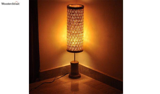Tattva Bamboo Floor Lamp-1