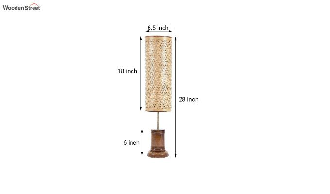 Tattva Bamboo Floor Lamp-3