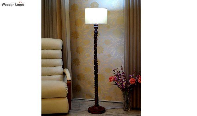 Tendril Cream Floor Lamp-1