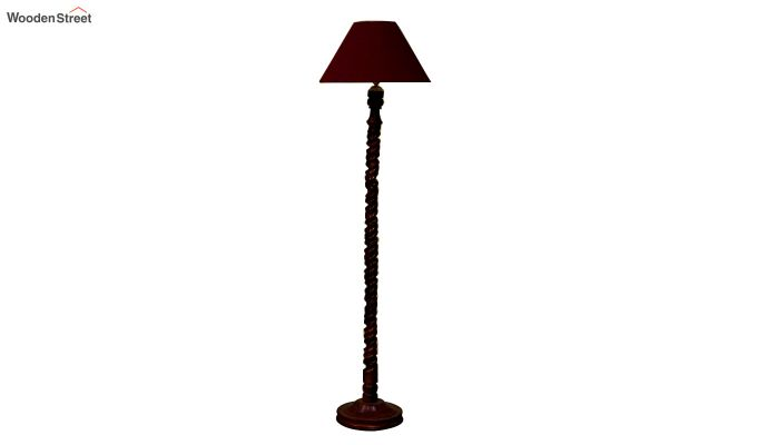 Tendril Maroon Floor Lamp-3