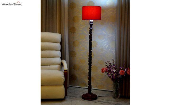 Tendril Red Floor Lamp-1