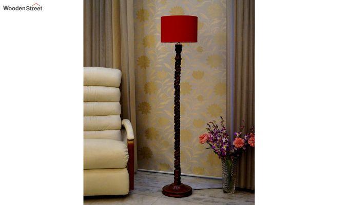 Tendril Red Floor Lamp-2