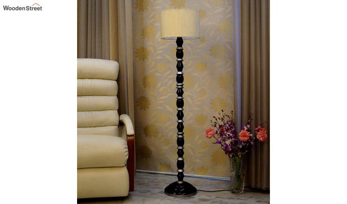 Totem Cream Floor Lamp-2
