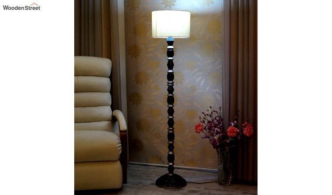 Totem Cream Floor Lamp-1