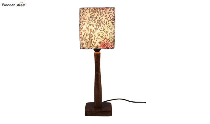 Abstract Floral Table Lamp-2