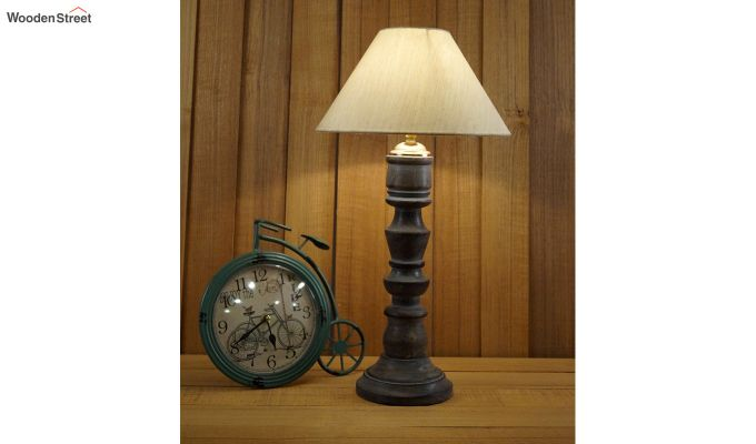 Candle Cream Table Lamp-1