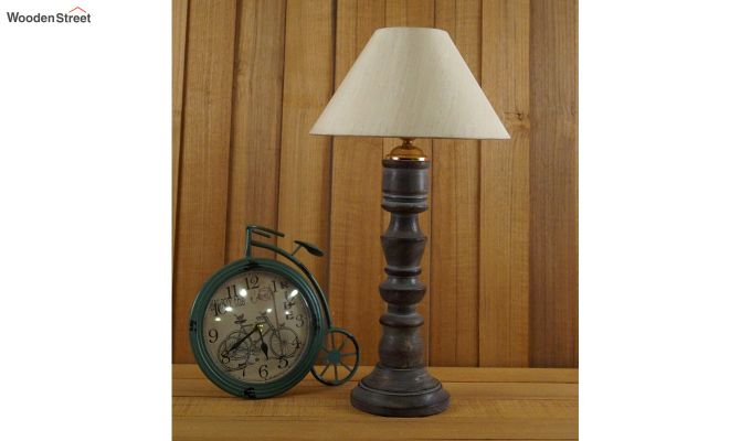 Candle Cream Table Lamp-2