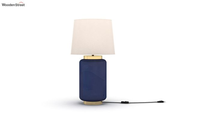 Ceres Metal Blue Table Lamp-2