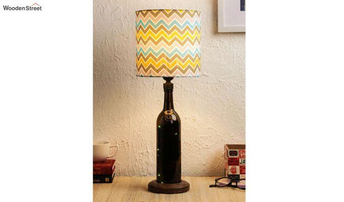 Chevron Bottle Table Lamp-1
